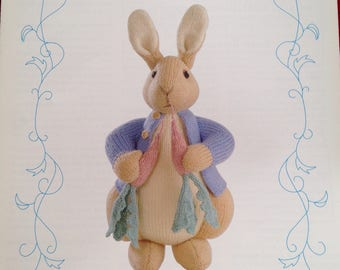 Original Beatrix potter  peter Rabbit knitting pattern