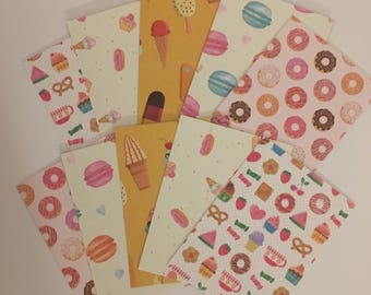 Sweet treat ATC cards