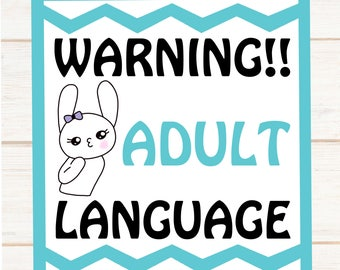 Potty Mouth Agnes --- Wake the F*** and Get Your B**** on ---  Coffee --- Snarky Stickers --- 561