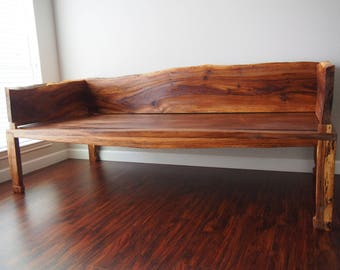 Chinese Style Daybed - Sweetgum and Oak