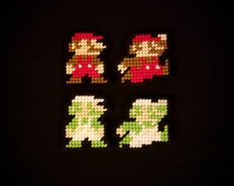 Super Mario Brothers (Small Mario and Luigi) Magnets