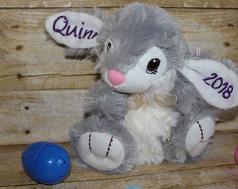 Easter Rabbit, Easter Bunny, Personalized Easter Gift, Personalized Easter Bunny, Thumper, Personalized Easter Rabbit