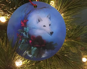 Wild Winter Solstice Ornament - Christmas Ornament - Holiday Ornament - Tree Decor - Holiday Decoration