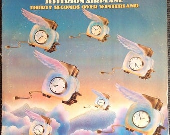 Thirty Seconds Over Winterland by Jefferson Airplane LP