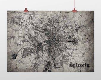 Leipzig - A4 / A3 - print - OldSchool