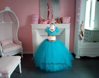 Jasmine Aladdin inspired tutu dress