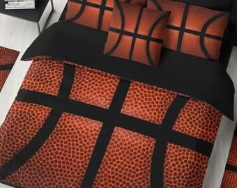 Basketball Ball Bedding Duvet Comforter Custom Personalized King