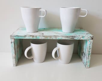 Tablet, kitchen, mug, wood, painted by hand