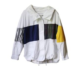 70s Color Block Jacket