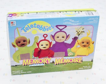 90s Vintage Teletubbies Memory Game for Child, Learning Games for Kids, Picture Cards 90s Games, Preschool Games, Retro Game Kids Games