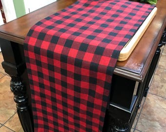 Plaid Table Runner