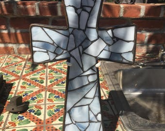 Mosaic art cross