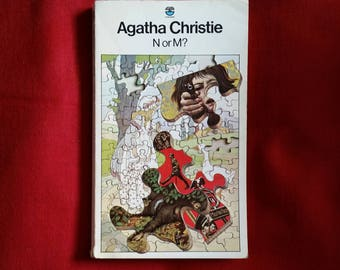 Agatha Christie - N or M? (Fontana 1979) -  Tommy and Tuppence #3