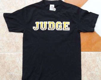 JUDGE Bringin' It Down late 90's Vintage T-shirt Black Straight Edge Hard Core Punk NYC Youth Of Today Minor Threat Gorilla Biscuits
