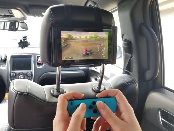 Nintendo Switch Car Headrest Travel Mount Holder