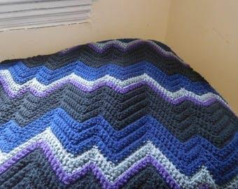 Zigzag Blanket: Galaxy