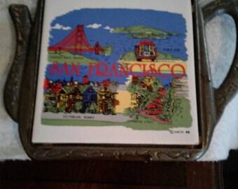 San Francisco Teapot trivet
