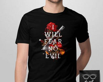 013 -- I Fear No Evil -- Supernatural Inspired Shirt -- S-6XL