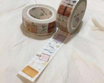 Travelers Notebook, Planner and Journalling WASHI TAPE