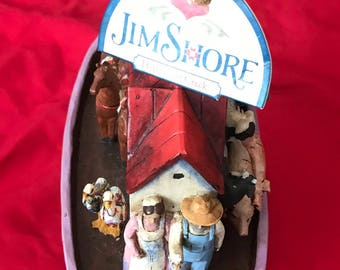Enesco Jim Shore Noah Ark