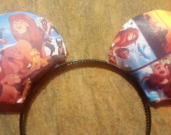 Lion king mickey mouse ears