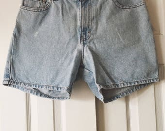 90's Babe Calvin Klein Jean Shorts