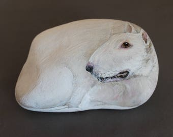 Collectable Stone English Bull Terrier