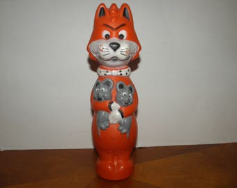 Mr.Jinks,Pixie and Dixie Soap Bottle