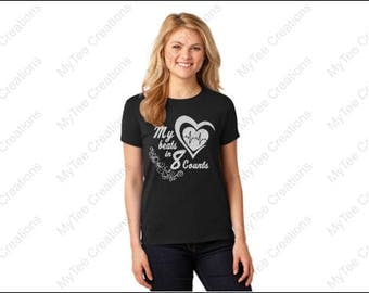 My Heart Beats in 8 Counts TShirt