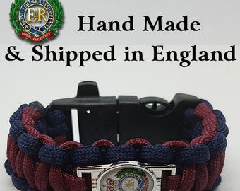 The Royal Engineers Paracord Bracelet Wristband Great Gift