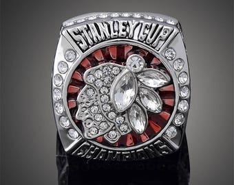 Chicago Blackhawks (2013) Stanley Cup Hockey Championship Ring