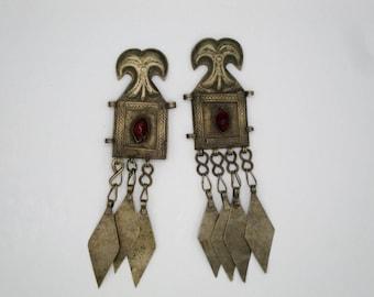 Pair of Turkoman Pendants