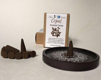 Copal Incense Cones, Box of 10