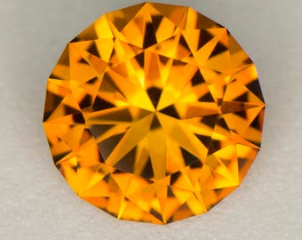 2.72ct Precision Cut Citrine - CLEARANCE PRICE