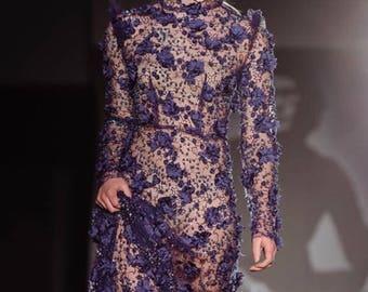 The Blue Garden Dress- Special occasions i.e. weddings, anniversary, red carpet, garden parties
