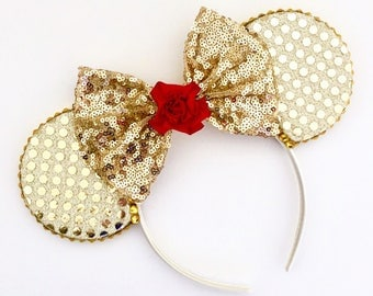 The Beauty - Handmade Mouse Ears Headband