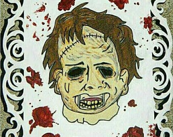Texas Chainsaw Massacre painting
