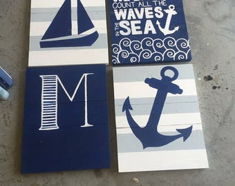 Nautical Nursery Set