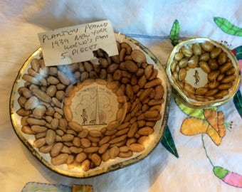 Vintage Planter's Peanut 1939 World's Fair Snack Set
