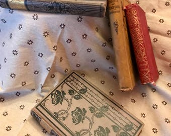 Antique book lot