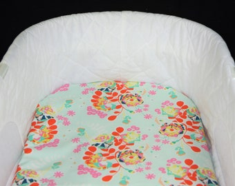 Bassinet Sheet - Orchard Blossom  - Moses basket sheet
