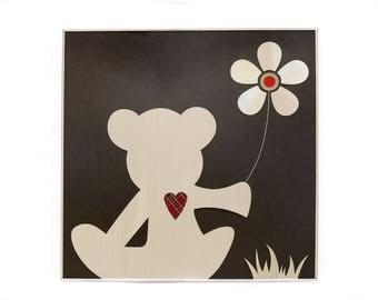 Bemily Bear and her Flower