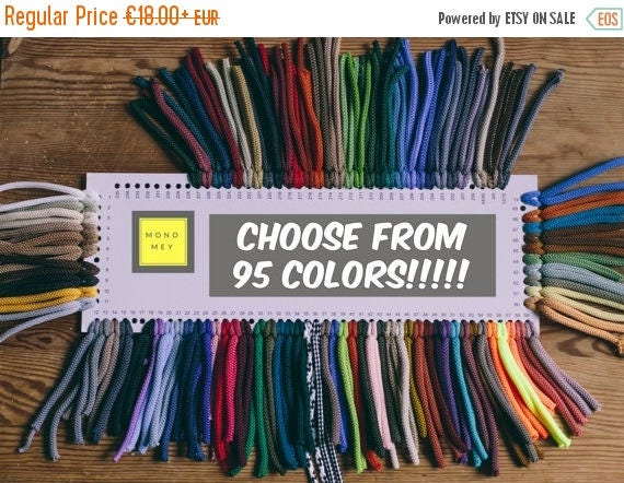 SALE 30 % 95 COLORS yarn- Polyester cord- crochet cord- crochet yarn- macrame yarn- macrame cord- crochet cord 218/328 yards or 200/300 mete