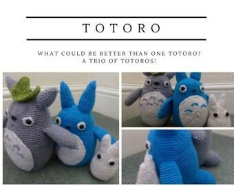 A Trio of Totoros
