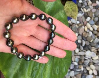 Tahitian Pearl Bracelet # 5656