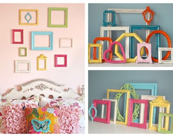 Nursery Decor Shabby Chic Picture Frames