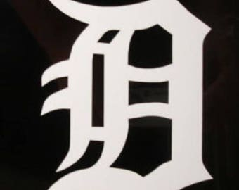 Detroit Tigers D vinyl decal car truck laptop Free Shipping!