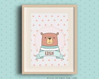 Poster frame for child's room