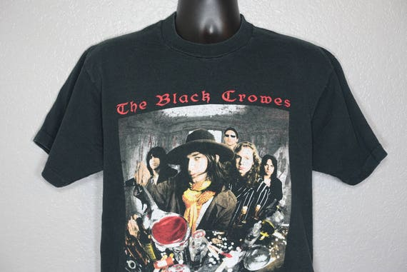 1992 RARE The Black Crowes - High As The Moon '92 Tour Double-Sided Vintage Concert T-Shirt