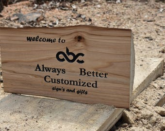 custom you design carved wood sign clock what ever you want